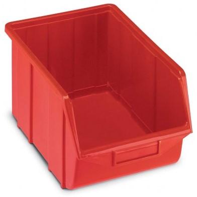 5189f7251 Plastové ukládací bedny 114 : Plastová ukládací bedna, barva červená ...